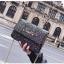 [ พร้อมส่ง ] - กระเป๋าแฟชั่น คลัทช์/สะพาย สีดำรุ้งวิ้งค์ๆ ทรงกล่องสี่เหลี่ยม ขนาดกระทัดรัด ดีไซน์สวยเรียบหรู ดูดี งานสวยค่ะ thumbnail 8