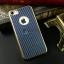 iKaku เคสครอบหลังลายเคฟล่าขอบสีทอง For Apple iPhone 7 thumbnail 4