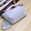 [ พร้อมส่ง ] - กระเป๋าสะพายไหล่แฟชั่น สีน้ำตาลเรโท ทรงถัง + กระเป๋าใบเล็ก 1 ใบ ดีไซน์สวยเรียบหรู ดูดี งานหนังคุณภาพดี พร้อมสายสะพายสุดเก๋ thumbnail 18