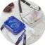[ พร้อมส่ง ] - กระเป๋าคลัทช์ สะพาย สีโฮโลแกรม ดีไซน์สวยเก๋เท่ๆ รับสงกรานต์ งานสวยโดดเด่น ขนาดกระทัดรัด งานสวยมากๆค่ะ thumbnail 4