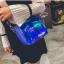 [ พร้อมส่ง ] - กระเป๋าคลัทช์ สะพาย สีน้ำเงินโฮโลแกรม ดีไซน์สวยเก๋เท่ๆ รับสงกรานต์ งานสวยโดดเด่น ขนาดกระทัดรัด งานสวยมากๆค่ะ สำเนา thumbnail 11