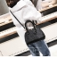 [ พร้อมส่ง ] - กระเป๋าถือ/สะพาย สีดำ ดีไซน์สวยหรู ฟรุ้งฟริ้ง วิ้งค์ๆทั้งใบ ใบกลางๆ ห้อยดาว งานสวยมาก thumbnail 6