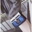 [ Pre-Order ] - กระเป๋าถือ/สะพาย สีน้ำเงิน ดีไซน์สวยน่ารัก ฟรุ้งฟริ้ง ใบกลางๆ ตกแต่งแม่กุญแจเก๋ๆ งานสวยไม่เหมือนใคร thumbnail 7