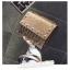 [ พร้อมส่ง Hi-End ] - กระเป๋าคลัทช์ สะพาย สีบรอนด์ทอง ดีไซน์สวยหรู ฟรุ้งฟริ้ง วิ้งค์ๆทั้งใบ ขนาดกระทัดรัด thumbnail 2