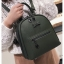 [ พร้อมส่ง Hi-End ] - กระเป๋าเป้แฟชั่น สีเขียวเข้ม ดีไซน์สวยเรียบหรู ดูดีสไตล์แบรนด์ งานหนังคุณภาพดี ช่องเยอะงานสวย thumbnail 7