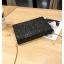 [ พร้อมส่ง ] - กระเป๋าคลัทช์ สะพาย สีดำ ดีไซน์สวยหรู ฟรุ้งฟริ้ง วิ้งค์ๆทั้งใบ ขนาดกระทัดรัด งานสวยมากๆค่ะ thumbnail 13