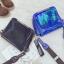 [ พร้อมส่ง ] - กระเป๋าคลัทช์ สะพาย สีน้ำเงินโฮโลแกรม ดีไซน์สวยเก๋เท่ๆ รับสงกรานต์ งานสวยโดดเด่น ขนาดกระทัดรัด งานสวยมากๆค่ะ สำเนา thumbnail 5