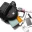 [ พร้อมส่ง ] - กระเป๋าเป้แฟชั่น สีดำคลาสสิค ปักหมุดเก๋ๆ สุดเท่ใบกลางๆ ดีไซน์สวยไม่ซ้ำใคร เหมาะกับสาว ๆ ที่ชอบกระเป๋าเป้ แถมเป๋าลูก thumbnail 22