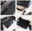[ พร้อมส่ง ] - กระเป๋าถือ/สะพาย สีดำคลาสสิค วิ้งค์ๆโทนรุ้ง ขนาดกระทัดรัด ดีไซน์สวยเรียบหรู ดูดี งานหนังสวยค่ะ thumbnail 24