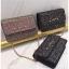 [ พร้อมส่ง ] - กระเป๋าแฟชั่น คลัทช์/สะพาย สีดำเงินวิ้งค์ๆ ทรงกล่องสี่เหลี่ยม ขนาดกระทัดรัด ดีไซน์สวยเรียบหรู ดูดี งานสวยค่ะ thumbnail 3