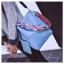 [ พร้อมส่ง ] - กระเป๋าสะพายไหล่แฟชั่น สีฟ้า ทรงถัง + กระเป๋าใบเล็ก 1 ใบ ดีไซน์สวยเรียบหรู ดูดี งานหนังคุณภาพดี พร้อมสายสะพายสุดเก๋ thumbnail 7