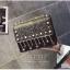 [ Pre-Order Hi-End ] - กระเป๋าคลัทช์ สะพาย สีดำ ดีไซน์สวยหรู ฟรุ้งฟริ้ง วิ้งค์ๆทั้งใบ ขนาดกระทัดรัด thumbnail 9