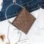 [ พร้อมส่ง ] - กระเป๋าถือ/สะพาย สีน้ำตาล วิ้งค์ๆ ขนาดใบเล็กๆ กระทัดรัด ดีไซน์สวยเก๋หัวบิดเปิดกระเป๋า ดูดี งานสวยน่ารักค่ะ thumbnail 3