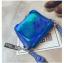 [ พร้อมส่ง ] - กระเป๋าคลัทช์ สะพาย สีน้ำเงินโฮโลแกรม ดีไซน์สวยเก๋เท่ๆ รับสงกรานต์ งานสวยโดดเด่น ขนาดกระทัดรัด งานสวยมากๆค่ะ สำเนา thumbnail 15
