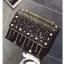 [ Pre-Order Hi-End ] - กระเป๋าคลัทช์ สะพาย สีดำ ดีไซน์สวยหรู ฟรุ้งฟริ้ง วิ้งค์ๆทั้งใบ ขนาดกระทัดรัด thumbnail 10