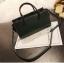 [ พร้อมส่ง ] - กระเป๋าถือ/สะพาย สีเขียวเข้ม ขนาดกระทัดรัด ดีไซน์สวยเรียบหรู ดูดี งานหนังมันเงาสวย คุณภาพดีค่ะ thumbnail 6