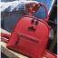 [ พร้อมส่ง Hi-End ] - กระเป๋าเป้แฟชั่น สีแดง ดีไซน์สวยเรียบหรู ดูดีสไตล์แบรนด์ งานหนังคุณภาพดี ช่องเยอะงานสวย thumbnail 9