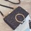 [ พร้อมส่ง ] - กระเป๋าคลัทช์ สะพาย สีเรนโบว์ หนังดำเท่ๆ ดีไซน์สวยหรู ฟรุ้งฟริ้ง วิ้งค์ๆทั้งใบ ขนาดกระทัดรัด งานสวยมากๆค่ะ สำเนา thumbnail 26
