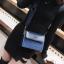 [ พร้อมส่ง ] - กระเป๋าถือ/สะพาย สีน้ำเงินเข้ม วิ้งค์ๆ ขนาดกระทัดรัด ดีไซน์สวยเรียบหรู ดูดี งานหนังสวยค่ะ thumbnail 6