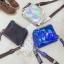 [ พร้อมส่ง ] - กระเป๋าคลัทช์ สะพาย สีโฮโลแกรม ดีไซน์สวยเก๋เท่ๆ รับสงกรานต์ งานสวยโดดเด่น ขนาดกระทัดรัด งานสวยมากๆค่ะ thumbnail 3