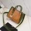 [ พร้อมส่ง ] - กระเป๋าถือ/สะพาย สีทูโทนเหลืองเขียว ใบเล็กกระทัดรัด ตกแต่งโลโก้ F เก๋ๆ ดีไซน์สวยเรียบหรู ดูดี งานหนังคุณภาพดี thumbnail 17