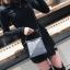 [ พร้อมส่ง ] - กระเป๋าถือ/สะพาย สีเงินวิ้งค์ๆ ขนาดใบเล็กๆ กระทัดรัด ดีไซน์สวยเก๋หัวบิดเปิดกระเป๋า ดูดี งานสวยน่ารักค่ะ thumbnail 7