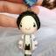 พวงกุญแจ ตุ๊กตารับปริญญา ขนาดสูง 2.5 นิ้ว thumbnail 2