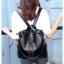 [ พร้อมส่ง ] - กระเป๋าเป้แฟชั่น สีดำคลาสสิค สุดเท่ ดีไซน์สวยเก๋ไม่ซ้ำใคร สวยสุดมั่น เหมาะกับสาว ๆ ที่ชอบกระเป๋าเป้และสะพายได้ หนังนิ่มน่าใช้ค่ะ thumbnail 26