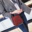 [ พร้อมส่ง ] - กระเป๋าถือ/สะพาย สีแดง วิ้งค์ๆ ขนาดใบเล็กๆ กระทัดรัด ดีไซน์สวยเก๋หัวบิดเปิดกระเป๋า ดูดี งานสวยน่ารักค่ะ thumbnail 7