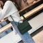 [ พร้อมส่ง ] - กระเป๋าถือ/สะพาย สีเขียวเข้ม ขนาดกระทัดรัด ดีไซน์สวยเรียบหรู ดูดี งานหนังแบบด้าน คุณภาพดีค่ะ thumbnail 8