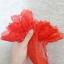 ถุงมืือลูกไม้เด็ก - ผู้ใหญ่ ผ้าตาข่าย สีแดง Size SS - XL thumbnail 4
