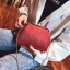 [ Pre-Order ] - กระเป๋าคลัทช์ สะพาย สีแดง ดีไซน์สวยหรู ฟรุ้งฟริ้ง วิ้งค์ๆทั้งใบ ขนาดกระทัดรัด งานสวยมากๆค่ะ thumbnail 5