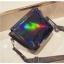 [ พร้อมส่ง ] - กระเป๋าคลัทช์ สะพาย สีดำโฮโลแกรม ดีไซน์สวยเก๋เท่ๆ รับสงกรานต์ งานสวยโดดเด่น ขนาดกระทัดรัด งานสวยมากๆค่ะ thumbnail 17