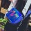 [ พร้อมส่ง ] - กระเป๋าคลัทช์ สะพาย สีน้ำเงินโฮโลแกรม ดีไซน์สวยเก๋เท่ๆ รับสงกรานต์ งานสวยโดดเด่น ขนาดกระทัดรัด งานสวยมากๆค่ะ สำเนา thumbnail 8