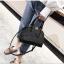 [ พร้อมส่ง ] - กระเป๋าถือ/สะพาย สีดำ ดีไซน์สวยหรู ฟรุ้งฟริ้ง วิ้งค์ๆทั้งใบ ใบกลางๆ ห้อยดาว งานสวยมาก thumbnail 5