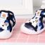 รองเท้ารัดส้น เปิดหน้าระบายอากาศ ลายหมีสีน้ำเงิน Size 17-22 thumbnail 2