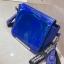 [ พร้อมส่ง ] - กระเป๋าคลัทช์ สะพาย สีน้ำเงินโฮโลแกรม ดีไซน์สวยเก๋เท่ๆ รับสงกรานต์ งานสวยโดดเด่น ขนาดกระทัดรัด งานสวยมากๆค่ะ สำเนา thumbnail 18