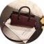 [ พร้อมส่ง ] - กระเป๋าถือ/สะพาย สีไวน์แดง ขนาดกระทัดรัด ดีไซน์สวยเรียบหรู ดูดี งานหนังมันเงาสวย คุณภาพดีค่ะ thumbnail 9