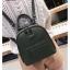 [ พร้อมส่ง Hi-End ] - กระเป๋าเป้แฟชั่น สีเขียวเข้ม ดีไซน์สวยเรียบหรู ดูดีสไตล์แบรนด์ งานหนังคุณภาพดี ช่องเยอะงานสวย thumbnail 5