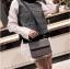 [ พร้อมส่ง ] - กระเป๋าถือ/สะพาย สีดำคลาสสิค วิ้งค์ๆโทนรุ้ง ขนาดกระทัดรัด ดีไซน์สวยเรียบหรู ดูดี งานหนังสวยค่ะ thumbnail 17