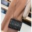 [ Pre-Order Hi-End ] - กระเป๋าคลัทช์ สะพาย สีดำ ดีไซน์สวยหรู ฟรุ้งฟริ้ง วิ้งค์ๆทั้งใบ ขนาดกระทัดรัด thumbnail 7