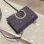 [ พร้อมส่ง ] - กระเป๋าคลัทช์ สะพาย สีเรนโบว์ หนังดำเท่ๆ ดีไซน์สวยหรู ฟรุ้งฟริ้ง วิ้งค์ๆทั้งใบ ขนาดกระทัดรัด งานสวยมากๆค่ะ สำเนา thumbnail 24