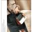 [ พร้อมส่ง ] - กระเป๋าถือ/สะพาย สีทูโทนขาวดำ ทรงกล่องขนาดกระทัดรัด ห้อยป้ายเก๋ๆ ดีไซน์สวยเรียบหรู ดูดี งานหนังคุณภาพดี ช่องใส่ของ 3 ช่อง thumbnail 6