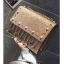[ พร้อมส่ง Hi-End ] - กระเป๋าคลัทช์ สะพาย สีบรอนด์ทอง ดีไซน์สวยหรู ฟรุ้งฟริ้ง วิ้งค์ๆทั้งใบ ขนาดกระทัดรัด thumbnail 5