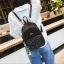 [ พร้อมส่ง Hi-End ] - กระเป๋าเป้แฟชั่น สีดำวิ้งค์ๆ ใบกลางๆ ดีไซน์สวยเก๋ปรับใช้งานได้หลากสไตล์ ดูดีสไตล์แบรนด์ งานหนังคุณภาพดี ไม่ซ้ำใคร thumbnail 9