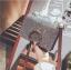 [ พร้อมส่ง ] - กระเป๋าคลัทช์ สะพาย สีเรนโบว์ หนังน้ำตาลเท่ๆ ดีไซน์สวยหรู ฟรุ้งฟริ้ง วิ้งค์ๆทั้งใบ ขนาดกระทัดรัด งานสวยมากๆค่ะ thumbnail 17