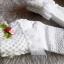 ถุงเท้าเด็กหญิง สีขาวระบายลูกไม้ ประดับดอกหลากสี สำหรับเด็ก 3 - 9 ปี thumbnail 5