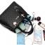 [ พร้อมส่ง ] - กระเป๋าแฟชั่น ถือ/สะพาย สีดำ ใบใหญ่ทรงตั้งได้ ดีไซน์สวยเรียบหรู ดูดี งานหนังอัดลายสวยค่ะ thumbnail 18