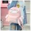[ พร้อมส่ง ] - กระเป๋าเป้แฟชั่น สีชมพู สุดเท่ ดีไซน์สวยเก๋ไม่ซ้ำใคร สวยสุดมั่น เหมาะกับสาว ๆ ที่ชอบกระเป๋าเป้น้ำหนักเบาๆ thumbnail 10