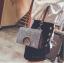 [ พร้อมส่ง ] - กระเป๋าคลัทช์ สะพาย สีเรนโบว์ หนังน้ำตาลเท่ๆ ดีไซน์สวยหรู ฟรุ้งฟริ้ง วิ้งค์ๆทั้งใบ ขนาดกระทัดรัด งานสวยมากๆค่ะ thumbnail 14